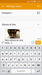 Samsung Galaxy A5 (2016) - Mensajería - Escribir y enviar un mensaje multimedia - Paso 23