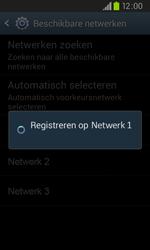 Samsung I9105P Galaxy S II Plus - Netwerk - Handmatig netwerk selecteren - Stap 12