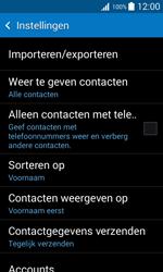 Samsung Galaxy Trend 2 Lite (SM-G318H) - Contacten en data - Contacten kopiëren van SIM naar toestel - Stap 7