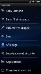Sony Ericsson Xpéria Arc - Internet et connexion - Partager votre connexion en Wi-Fi - Étape 4