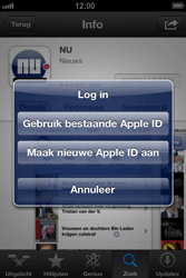 Apple iPhone 4 (iOS 6) - apps - app store gebruiken - stap 10