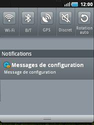 Samsung S5570 Galaxy Mini - MMS - configuration automatique - Étape 6