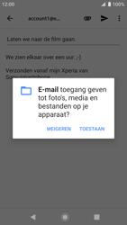 Sony xperia-xz-premium-g8141-android-pie - E-mail - Bericht met attachment versturen - Stap 11