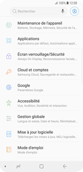Samsung Galaxy S9 - Device maintenance - Back up - Étape 6