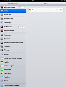 Apple iPad 4th generation - Wifi - handmatig instellen - Stap 4