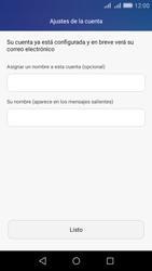 Huawei Huawei Y6 - E-mail - Configurar Outlook.com - Paso 9