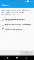 Sony Xperia M4 Aqua - Sécuriser votre mobile - Activer le code de verrouillage - Étape 11