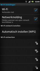 Sony ST25i Xperia U - Wifi - handmatig instellen - Stap 9