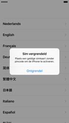 Apple iPhone 6 iOS 9 - Toestel - Toestel activeren - Stap 3