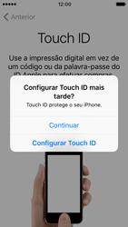 Apple iPhone SE iOS 10 - Primeiros passos - Como ligar o telemóvel pela primeira vez -  13