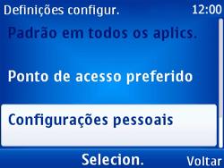 Nokia X2-01 - Internet - Como configurar seu celular para navegar através de Vivo Internet - Etapa 5