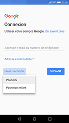 Huawei P10 - Android Oreo - Applications - Créer un compte - Étape 4