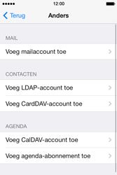 Apple iPhone 4 iOS 7 - E-mail - Account instellen (IMAP zonder SMTP-verificatie) - Stap 6