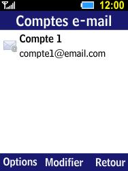 Samsung B550H Xcover 550 - E-mail - Configuration manuelle - Étape 18