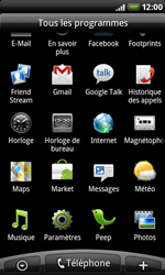 HTC A8181 Desire - MMS - Configuration manuelle - Étape 3