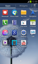 Samsung S7560 Galaxy Trend - Applications - Downloading applications - Step 3