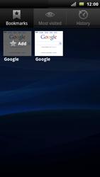 Sony Ericsson Xperia Arc - Internet - Internet browsing - Step 7