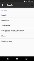 Sony Xperia XZ Premium - Beveiliging en privacy - zoek mijn mobiel activeren - Stap 5