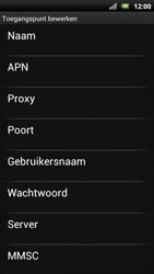 Sony Ericsson Xperia Neo met OS 4 ICS - Internet - Handmatig instellen - Stap 9