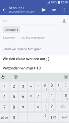 HTC 10 - E-mail - E-mail versturen - Stap 10