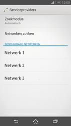 Sony Xperia Z3 Compact (D5803) - Netwerk - Handmatig netwerk selecteren - Stap 11