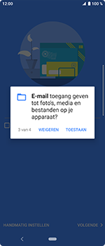 Sony Xperia 10 - E-mail - handmatig instellen (outlook) - Stap 12