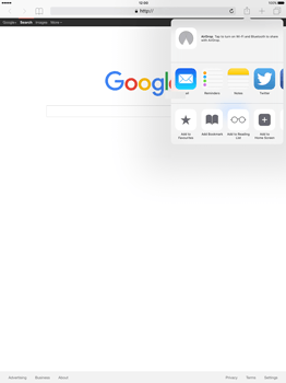 Apple iPad Pro 12.9 (1st gen) - iOS 9 - Internet - Internet browsing - Step 5