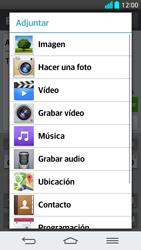 LG G2 - Mensajería - Escribir y enviar un mensaje multimedia - Paso 14