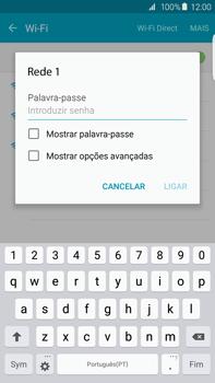 Samsung Galaxy S6 Edge + - Wi-Fi - Ligar a uma rede Wi-Fi -  7