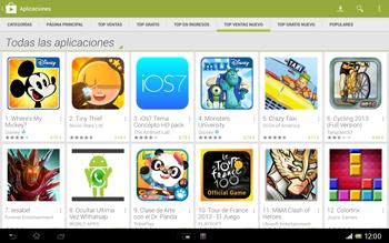 Sony Xperia Tablet Z - Aplicaciones - Descargar aplicaciones - Paso 9