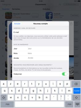 Apple iPad Pro (9.7) - Applications - Télécharger des applications - Étape 13