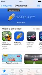 Apple iPhone 5s - Aplicaciones - Descargar aplicaciones - Paso 4