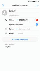 Honor 9 - Contact, Appels, SMS/MMS - Ajouter un contact - Étape 7