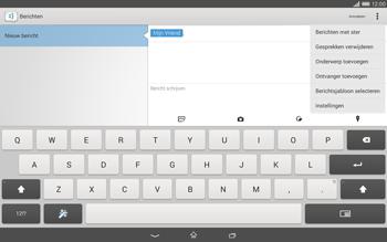 Sony Xperia Tablet Z2 (SGP521) - MMS - afbeeldingen verzenden - Stap 10