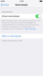 Apple iPhone 7 (Model A1778) - iOS 11 - Automatische iCloud-reservekopie instellen - Stap 8