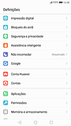 Huawei P10 Lite - Segurança - Como ativar o código de bloqueio do ecrã -  3