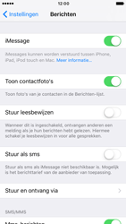 Apple iPhone 6 iOS 10 - iOS features - Stuur een iMessage - Stap 5