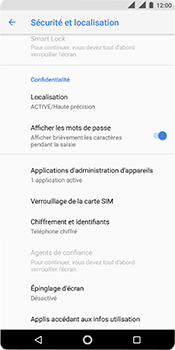 Nokia 5.1 - Sécurité - modifier SIM PIN - Étape 5