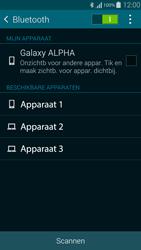 Samsung G850F Galaxy Alpha - Bluetooth - koppelen met ander apparaat - Stap 8