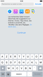 Apple iPhone 6 Plus iOS 8 - Internet - navigation sur Internet - Étape 3