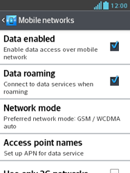 LG E430 Optimus L3 II - Internet - Usage across the border - Step 6