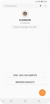 Samsung Galaxy S9 Plus - Contact, Appels, SMS/MMS - Ajouter un contact - Étape 4