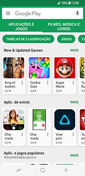 Samsung Galaxy S8 - Aplicações - Como pesquisar e instalar aplicações -  4