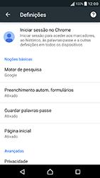 Sony Xperia XA (F3111) - Internet no telemóvel - Como configurar ligação à internet -  25