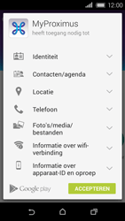 HTC Desire 320 - Applicaties - MyProximus - Stap 9