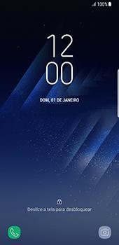 Samsung Galaxy S8 - Funções básicas - Como reiniciar o aparelho - Etapa 5