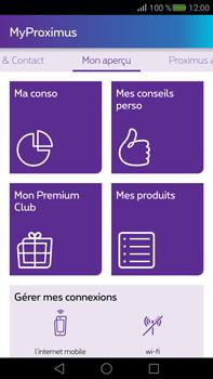 Huawei Mate S - Applications - MyProximus - Étape 15