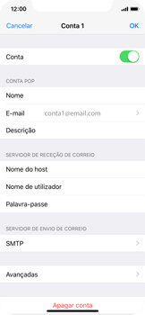 Apple iPhone X - Email - Configurar a conta de Email -  25