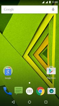 Motorola Moto X Play - Internet - Activar o desactivar la conexión de datos - Paso 1