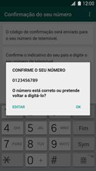 Samsung Galaxy S5 - Aplicações - Como configurar o WhatsApp -  7